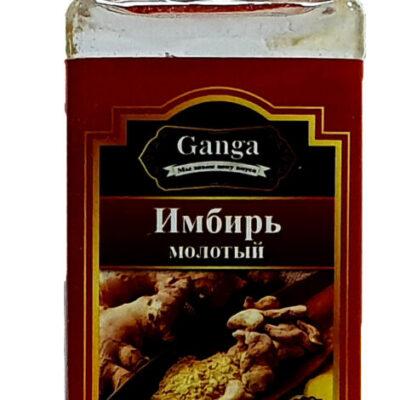 "Имбирь молотый ""Ganga Foods"" Банка 140 мл."