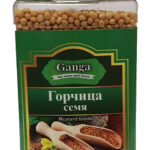 "Горчица семена желтое ""Ganga Foods"" Банка 140 мл."