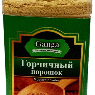 """Горчичный порошок """"Ganga Foods"""" Банка 140 мл."""