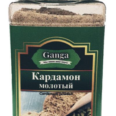 """Кардамон молотый """"Ganga Foods"""" Банка 140 мл."""