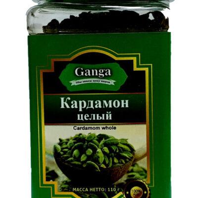"""Кардамон целый """"Ganga Foods"""" Банка 140 мл."""