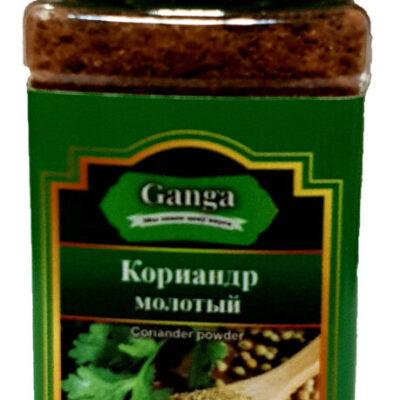 "Кориандр молотый ""Ganga Foods"" Банка 140 мл."