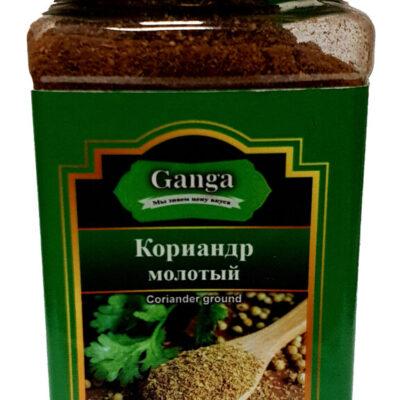 "Кориандр молотый ""Ganga Foods"" Банка 350 мл."