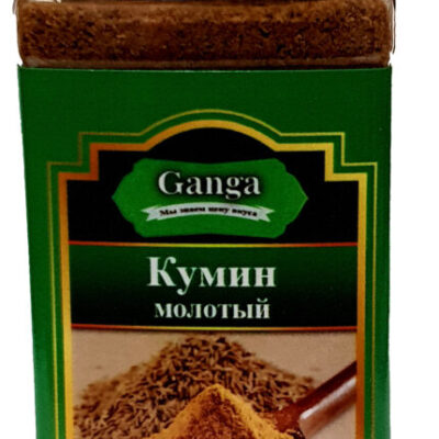 "Кумин молотый ""Ganga Foods"" Банка 140 мл."