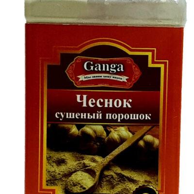 """Чеснокый порошок """"Ganga Foods"""" Банка 350 мл."""