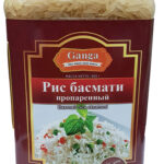 """Рис Басмати Селла """"Ganga Foods"""" Банка 1000 мл."""