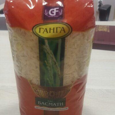 """Рис Басмати Селла """"Ganga Foods"""" пакет 900 гр."""