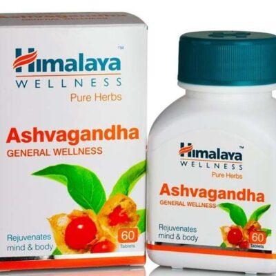 Ашвагандха,  Хималая; Ashvagandha, 60 tabs, Himalaya