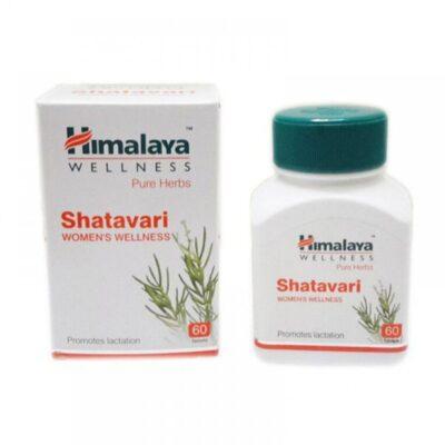 Шатавари, лечение репродуктивной системы, 60 таб, производитель Хималая; Shatavari, 60 tabs, Himalaya
