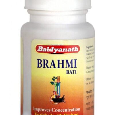 Брахми Вати; Brahmi Bati, 80 tabs, Baidyanath