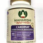 Кардимап, при гипертонии, 60 таб, производитель Махариши Аюрведа; Cardimap, 60 tabs, Maharishi Ayurveda