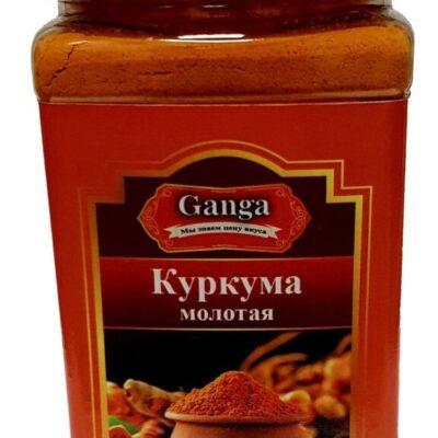 "Куркума молотая ""Ganga Foods"" Банка 140 мл."