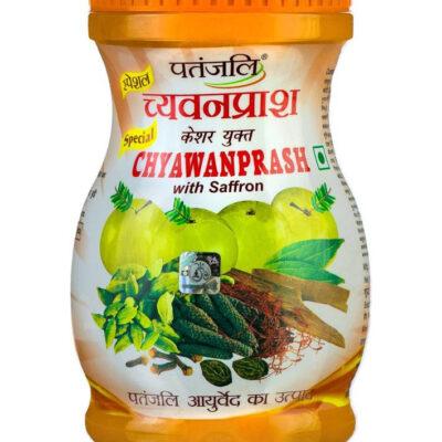 Чаванпраш с шафраном; Chyawanprash with Saffron, Patanjali
