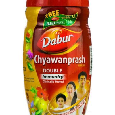 Чаванпраш Двойной иммунитет, Дабур; Chyawanprash, Dabur