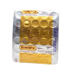 Сумента, Чарак; Sumenta, 30 tabs, Charak