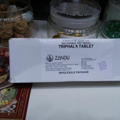 Трифала, 240 таб, производитель Занду; Triphala, 240 tabs, Zandu