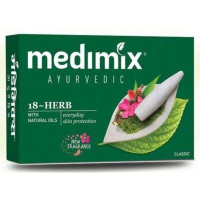 Аюрведическое мыло Медимикс 18 трав, 125 г, производитель Медимикс; Soap Medimix 18 herbs, 125 g, Medimix