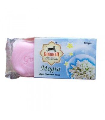 Аюрведическое мыло Могра, 100 г, производитель Гомата; Mogra Body Cleanser Soap, 100 g, Gomata