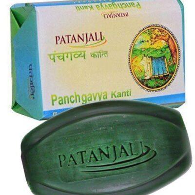 Аюрведическое мыло Пять даров Священной Коровы; Panchgavya Soap, 75 g, Patanjali