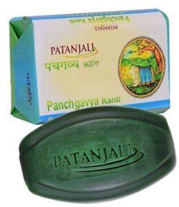Аюрведическое мыло Пять даров Священной Коровы, 75 г, Патанджали; Panchgavya Soap, 75 g, Patanjali