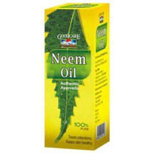Масло нима, от кожных заболеваний, 50 мл, производитель Гуд Кейр (Байдьянатх); Neem oil, 50 ml, Goodcare (Baidyanath)