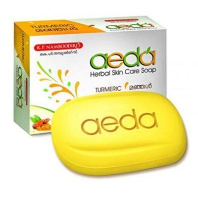Мыло Аеда Куркума, 75 г, производитель К.П. Намбудирис; Aeda soap Turmeric, 75 g, K.P. Namboodiri's