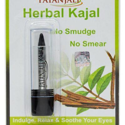 Подводка для глаз Каджал с лечебными травами, 3 г, Патанджали; Herbal kajal, 3 g, Patanjali