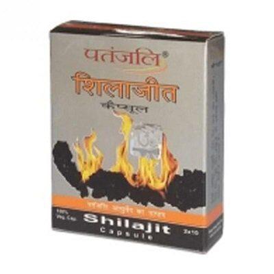 Индийское мумие Шиладжит; Shilajit, 20 caps, Patanjali