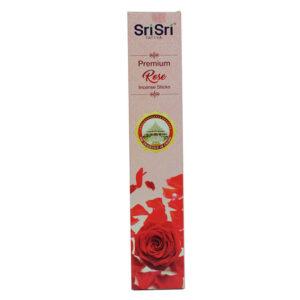 Ароматические палочки роза (15г), Rose Incense Sticks, произв. SriSri Tattva