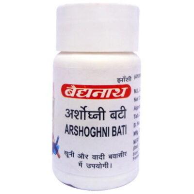 Аршогхни Бати: от геморроя (40 таб), Arshoghni Bati, произв. Baidyanath