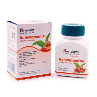 Ашвагандха (60 таб, 250 мг), Ashvagandha, Himalaya