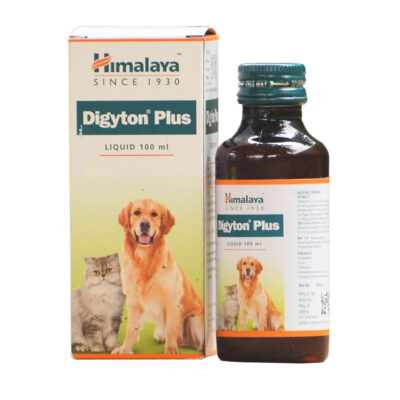 Дигайтон Плюс: для улучшения пищеварения у кошек и собак (100 мл), Digyton Plus, произв. Himalaya