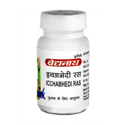Ичхабхеди Рас (40 таб, 125 мг), Ichhabhedi Ras, произв. Baidyanath