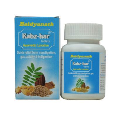 Кабз-хар: слабительное средство (60 таб), Kabz-har Laxative, произв. Baidyanath