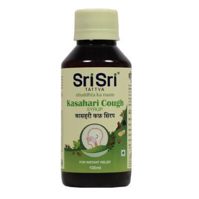 Касахари: сироп от кашля (100 мл), Kasahari Cough Syrup, произв. Sri Sri Tattva