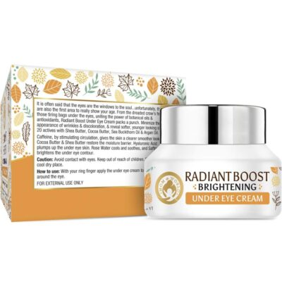 Крем от темных кругов под глазами (30 г), Radiant Boost Brightening Under Eye Cream, произв. Mom & World