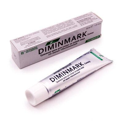 Крем травяной от морщин омолаживающий 30 мл, Diminmark
