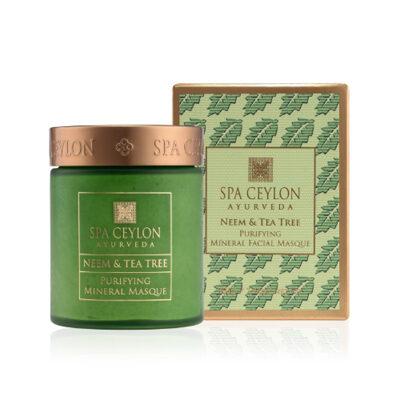 """Маска для лица минеральная очищающая """"Ним и чайное дерево"""" 200 мл, Spa Ceylon Ayurveda"""