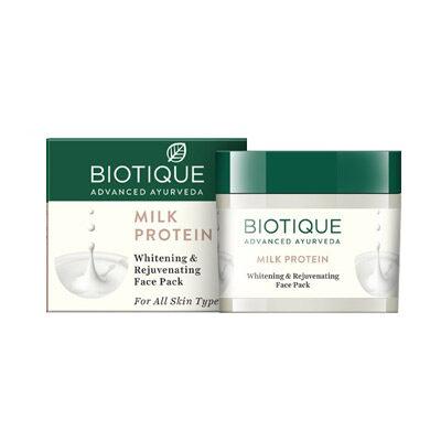 """Маска для лица омолаживающая и осветляющая """"Био Протеин"""" 50 г, Biotique"""