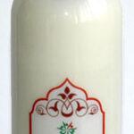 Молочко для снятия макияжа С МАСЛАМИ АРГАНЫ, РОЗЫ И ЖАСМИНА (для сухой кожи), TARA, Йемен, 100 мл.