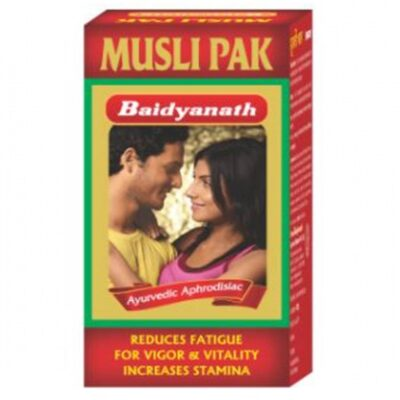 Мусли Пак порошок: для мужского здоровья (100 г), Musli Pak Powder, произв. Baidyanath