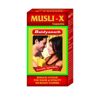 Мусли-Х капсулы: для мужского здоровья (30 кап), Musli-X, произв. Baidyanath