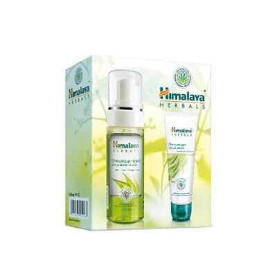 Набор косметический №142 (очищающая пенка для умывания и очищающая маска), Himalaya Herbals