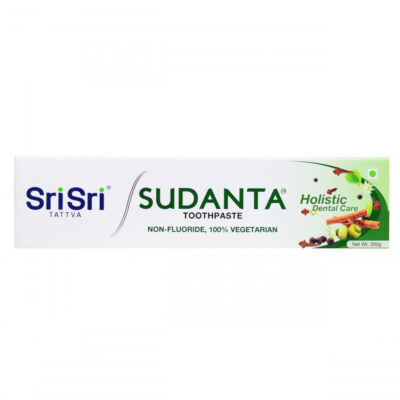 Натуральная зубная паста Суданта (200 г), Sudanta Toothpaste, произв. Sri Sri Tattva
