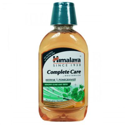Ополаскиватель для полости рта: Мисвак и Гранат (215 мл), Complete Care Mouthwash, Miswak, Pomegranate, произв. Himalaya