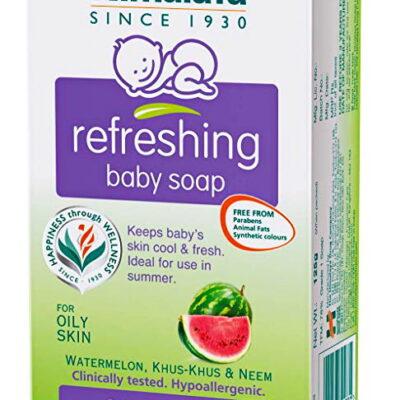 Освежающее детское мыло (75 г), Refreshing Baby Soap, произв. Himalaya