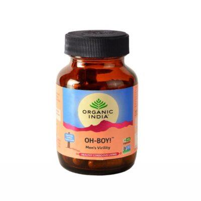 Ох-Бой: для мужского здоровья (30 кап, 350 мг), Oh-Boy, произв. Organic India