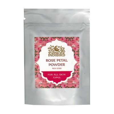 Порошок из лепестков розы (Rose Petal Powder) 50 г, Indibird
