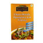 """Приправа для гороха """"Чана масала"""" в коробке (Chana Masala) 100 г, Bharat Bazaar"""