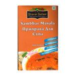 """Приправа для супа """"Самбар масала"""" в коробке (Sambar Masala) 100 г, Bharat Bazaar"""